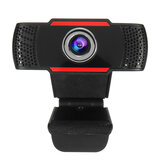Webcam HD 1080P avec microphone PC portable Ordinateur de bureau Webcams USB Pro Caméra d'ordinateur en streaming