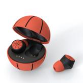 EMEY TWS Sport Basketball Football Shaped Wireless Stereo Earbuds Waterproof bluetooth 5.0 Earphone