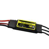 XF-Model 2-3S 30A Brushless ESC With 5V/3A Switch BEC T XT60 Plug for RC Model