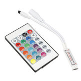 24 Key Mini IR Afstandsbediening voor 3528 5050 RGB LED Strip Light DC 12V