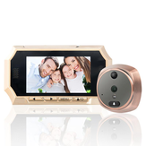 4.3 inch TFT LCD Screen Digital Peephole Door Viewer Camera PIR Motion Detection Doorbell 160 Degree
