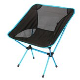 AOTU Outdoor Portable Folding Chair Ultralight Aluminum Camping Picnic BBQ Seat Stool Max Load 150kg