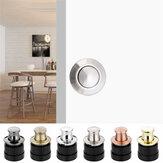 Embedded Cabinet Door Knobs Spring Knobs Single Hole Hidden Pulls Cabinet Door Handles