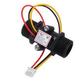 YF-S201C Black Flow Meter Water Flow Sensor Switch Precision Flowmeter Turbine Flowmeter G1/2 DN15