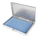 Taca do sterylizacji ze stali nierdzewnej Case Middle Size Surgical Instrument Tool Box