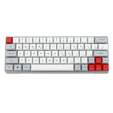 Geek Customized GK64 Aluminiumlegierung Gehäuse 64 Tasten Mechanische Gaming-Tastatur PBT-Tastenkappen Gateron Switch Hot Swapable RGB Gaming-Tastatur