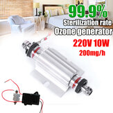 Ozone Generator Tube Sterilizer DIY Accessories 220V 10W 200mg / H 63x61x30mm