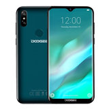 DOOGEE Y8 6.1 Inch HD Waterdrop Screen Android 9.0 3GB RAM 16GB ROM MT6739 Quad Core 4G Smartphone