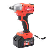 20V Brushless High Torque 1/2Inch Hog Ring Impact Wrench Lithium Battery Rechargeable Wrench