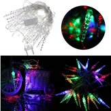 5M 20 LED Colorful Crystal Xmas String Lights Christmas Wedding Party Decor 220V