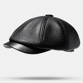 Berretti in PU Berretti da berretto da baseball casual caldi all'aperto