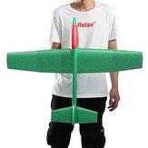 33 Polegada Enorme Lançamento Mão Jogando Avião Avião DIY Espuma Inercial EPP Avião Brinquedo