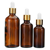 Brown Amber Glass Bottle Glass Dropper Dropping Flaske Genopfyldelig Container 10/20/30/50 / 100mL