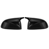 M Style Glossy Black Replacement Side Mirror Cover Caps For BMW X3 X4 X5 X6 X7 G01 G02 G05 G06 G07 2018-2020