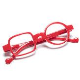 Unisex onregelmatige full-frame vierkante cirkel ronde hars leesbril