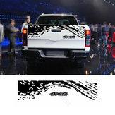 4X4155*34cmKofferraum Dekoration Aufkleber BK Aufkleber Universal für SUV Pickup