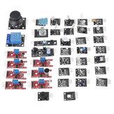 Geekcreit 37 w 1 płyta modułu czujnika zestaw zestawy startowe zestaw czujnika do opakowania kartonowego Arduino