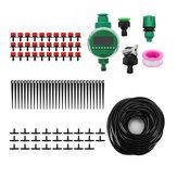 DIY-Bewässerungssystem-Wasser-Timer-Selbstsprinkler-Anlagen-Bewässerung mit Adapter-Bewässerungs-Timer