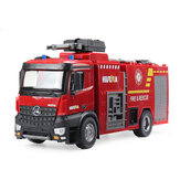 HuiNa 1562 RTR 1/14 2.4G 22CH RC Vehicles Water Spray Fire Sprinkler Truck Sound Lighting Models