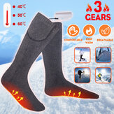Bakeey Three Gears USB Socks Warm Foot Treasure Elektrische Verwarmingssokken Winter Mannen en Vrouwen Foot Warmer Socks