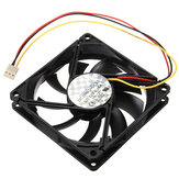 80x80x15mm 3 Pin 12V CPU Cooling Fan Cooler Компьютерный радиатор