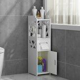 22x24x80cm Banheiro Prateleira de canto ereta do chuveiro do lavatório do armário de armazenamento