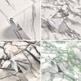 Rotolo di carta da parati in marmo Adesivi autoadesivi in PVC per la casa Cucina moderna