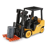 Ao Hai 3828 1/8 11CH Rc Car Forklift Truck With Light Music Demonstration Toy