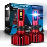 Novsight N11 Araba LED Farlar Sis Farları 60W 10000LM 6000K H4 H7 H11 Su Geçirmez 2 Adet