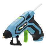 Tonfon 3.6V 2000mAh Cordless Hot Glue Guns Kits USB Rechargable Melt Glue Kits with 10 Glue Sticks