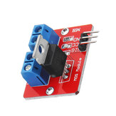 0-24V Top Mosfet Button IRF520 MOS Driver Control Module For  MCU ARM Raspberry Pi
