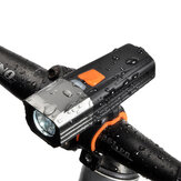 XANES® XL35 900 Lumens Lampu Sepeda USB Isi Ulang 5 Mode Waterproof Bike Light