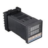 REX-C100 Controlador digital de temperatura del termostato PID RKC 0 a 400 grados K Tipo Salida de relé