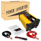 6000W Peak Modified Sine Wave Power Inverter DC 12V to AC 110V/220V MCU LCD Display Dual USB Charge Car Inverter