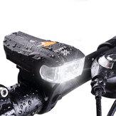 [BANGGOOD ANNI VIP EXCLUSIVE] XANES 600LM XPG + 2 LED Luce di avvertimento sensore intelligente standard tedesco per bicicletta Luce anteriore per bici
