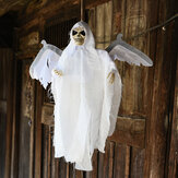 New Halloween Party Decoration Sound Control Creepy Scary Animated Skeleton Wiszący Duch