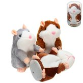 Banggood Mimicry Talking Hamster Pet 15cm Christmas Gift Plush Toy Cute Speak Sound Record Stuffed Animal Toy