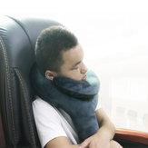 Q Shape Inflatable Decompression Support Zagłówek Przenośna poduszka na szyję Poduszka na głowę