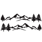 2pcs Side Body Stickers Decal Mountain & Tree For Camper Van Motorhome Car Caravan Boat