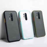 Bakeey Shockproof Anti-Fingerprint Matte Translucent Hard PC + Soft TPU Edge Protective Case for OnePlus 8 Pro