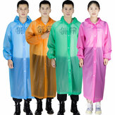 PEVA Adult Disposable Raincoat Outdoors Fishing Camping Hiking Travel Poncho Waterproof Colorful Rain Coat