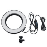 16cm 3200K-5500K Regulável LED Luz de preenchimento Fotografia Ring Light para vídeo ao vivo Blogger Photography Tiktok