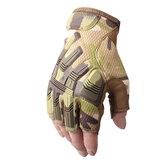 Sécurité antidérapante armée militaire demi-doigt gants tactiques moto motocross vélo équitation cyclisme sport randonnée tir gants de protection
