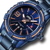 NAVIFORCE9117防水カレンダーメンズ腕時計