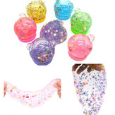 1pcs Crystal SLIME DIY Emoji Watch Mud Non-toxic Silly Putty Polyer Spoof Baby Toys Funny kid Toy Gi
