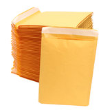 50Pcs Kraft Paper Bubble Mailers Padded Envelopes Self Seal Shipping Bags Lot Yellow