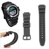 Replacement Black Wrist Banda Correia para relógio CASIO SGW300 SGW300-300h SGW400-400h SGW300 SGW400
