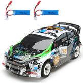 Wltoys K989 2 Батарея 1/28 2.4G 4WD Матовый RC Авто Легкосплавное шасси Транспортные средства Модель RTR