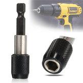 1/4 Inch 60mm Hurtigudløser Hex Shank Skruetrækker Bit Holder