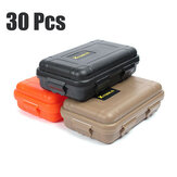 30Pcs Outdoor EDC Waterproof Survival Box Container Shockproof Tools Kit Storage Case